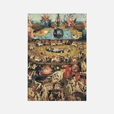 Garden of Earthly Delights Rectangle Magnet