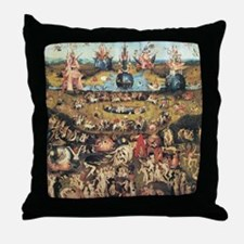 Garden of Earthly Delights Throw Pillow