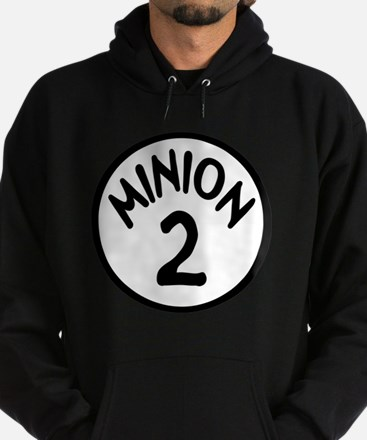 Minion 2 Two Children Hoodie (dark)