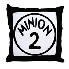 Minion 2 Two Children Throw Pillow