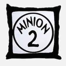 Minion 2 Two Children Throw Pillow