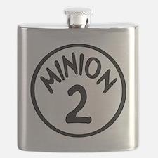 Minion 2 Two Children Flask
