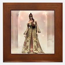 Mystery Fantasy Beauty Framed Tile