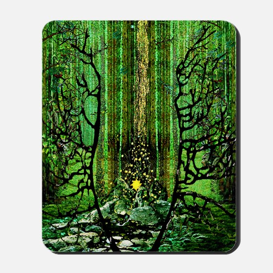 Prayer for the Forests C Lt Mousepad