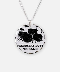 Drummers Love To Bang Necklace