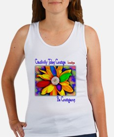 Creativity Flower Women's Tank Top