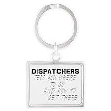 dispatchback Landscape Keychain