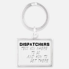 dispatchback Landscape Keychain