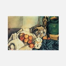 Still Life with Apples Rectangle Magnet