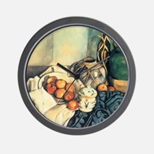 Still Life with Apples Wall Clock