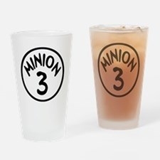 Minion 3 Three Children Drinking Glass