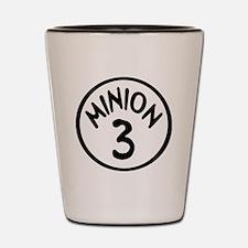 Minion 3 Three Children Shot Glass