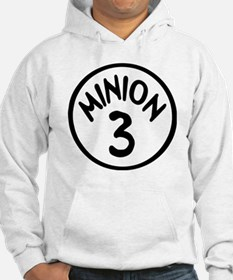 Minion 3 Three Children Hoodie Sweatshirt