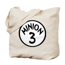 Minion 3 Three Children Tote Bag