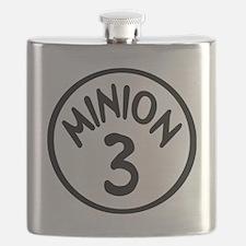 Minion 3 Three Children Flask