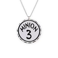 Minion 3 Three Children Necklace