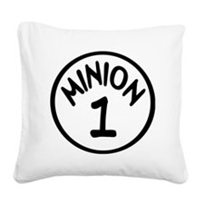 Minion 1 One Children Square Canvas Pillow