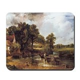 Hay wain Mouse Pads