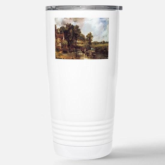 The Hay Wain Stainless Steel Travel Mug