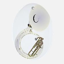 sousaphone-2 Oval Ornament