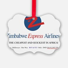 ZIMBABWE EXPRESS AIRLINES Ornament