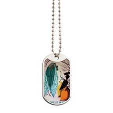 The Cicada and The Ant Matchbox French La Dog Tags