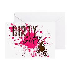 Dirty Girl Greeting Card