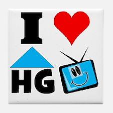 I Love HGTV Tile Coaster