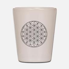 Flower of Life Shot Glass
