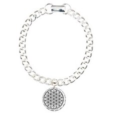 Flower of Life Charm Bracelet, One Charm