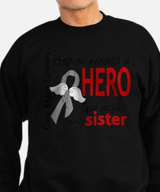 Brain Tumor HeavenNeededHero1 Jumper Sweater