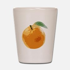 Orange Fruit Navel Valencia Naranja Shot Glass