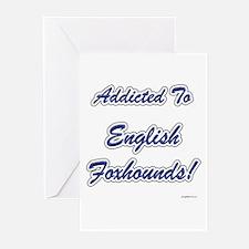 English Fox Addicted Greeting Cards (Pk of 10)