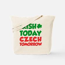 Irish Today Czech Tomorrow Tote Bag