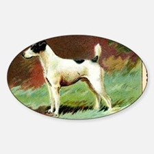 Antique 1908 Smooth Fox Terrier Dog Decal