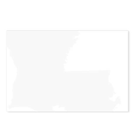 White Postcards (Package of 8)