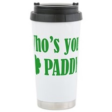 whosPaddy1C Travel Mug