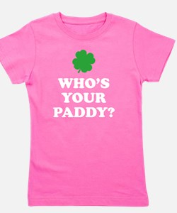 whosPaddy2B Girl's Tee
