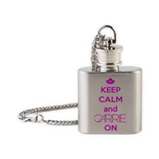 Carrie On Flask Necklace
