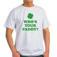 whosPaddy2C T-Shirt