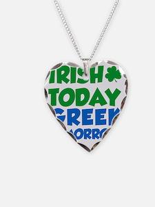 Irish Today Greek Tomorrow Necklace