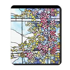 Tiffany Floral Skylight - Fenway Gate Mousepad