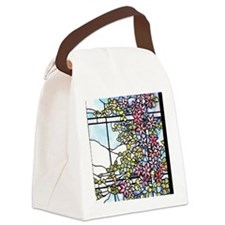 Tiffany Floral Skylight - Fenway Canvas Lunch Bag
