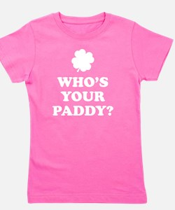 whosPaddy2D Girl's Tee