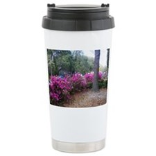 Azalea yard border Travel Mug
