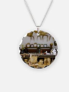 Basket Weaving Room Necklace