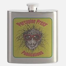 Porcupine Press Publications Flask