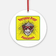 Porcupine Press Publications Round Ornament