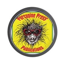 Porcupine Press Publications Wall Clock