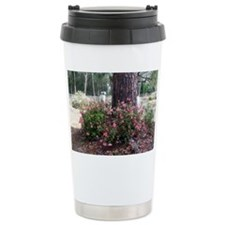 Tree and azaleas Travel Mug
